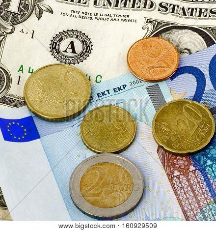 Money Concept Background Monetary