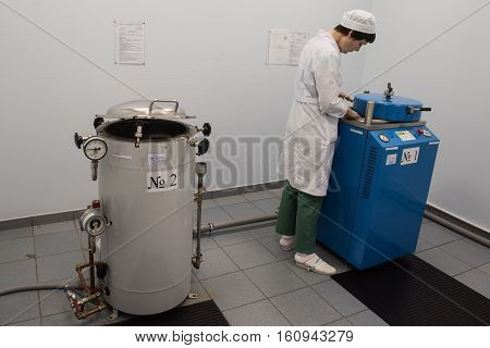 Female Chemist Laboratory To Industrial Steam Generators