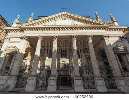 San Filippo Neri Church In Turin