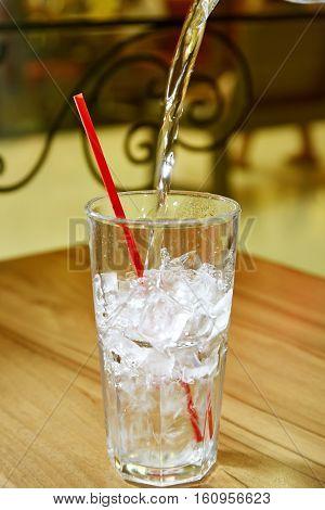 Highball Glass With Ice