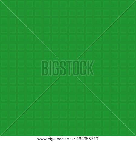 Waffle pattern. Green Neutral Seamless Pattern for Modern Design in Flat Style. Tileable Geometric Vector Background.