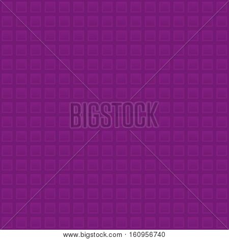 Waffle pattern. Purple Neutral Seamless Pattern for Modern Design in Flat Style. Tileable Geometric Vector Background.