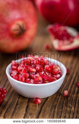 Pomegranate (selective Focus)