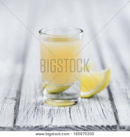 Fresh Made Lemon Juice