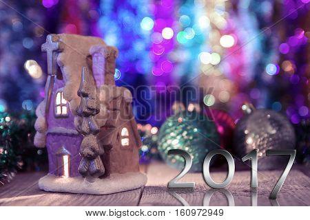 Fabulously beautiful Christmas card. Happy new year 2017