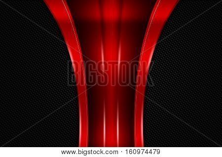 Red And Black Metal Background