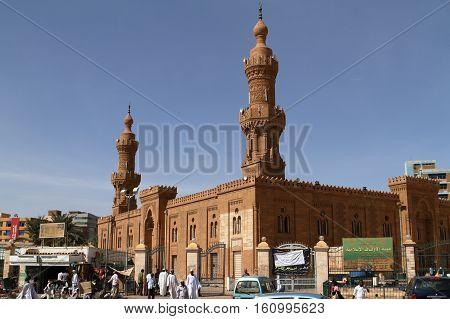 The Faruq Mosque of Khartoum in Sudan, 21. November 2012