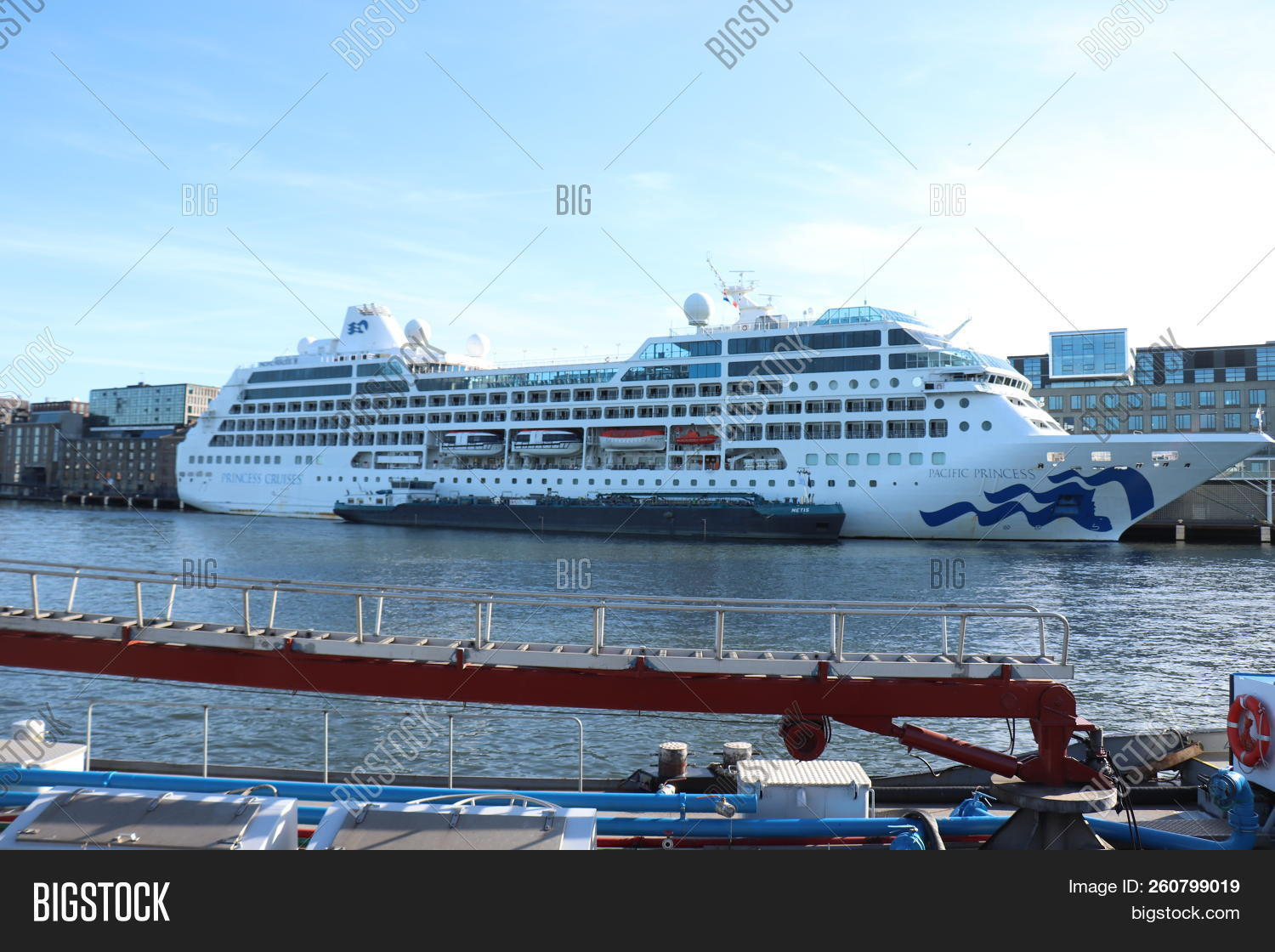 Amsterdam, The Netherlands - September 29th 2018  Pacific Princess Docked  At Passenger Terminal Amst a96a3273c7