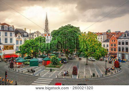 Place de l'Agora in Brussels