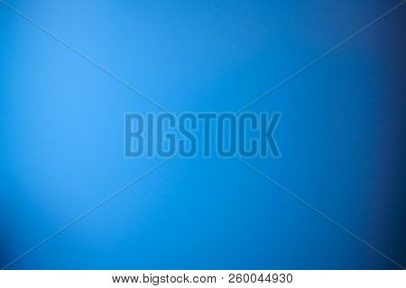 Blue Background Abstract Blur Gradient With Bright Clean Navy White Color, Light Paper Texture For L