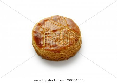French butter cookie Palets Bretons