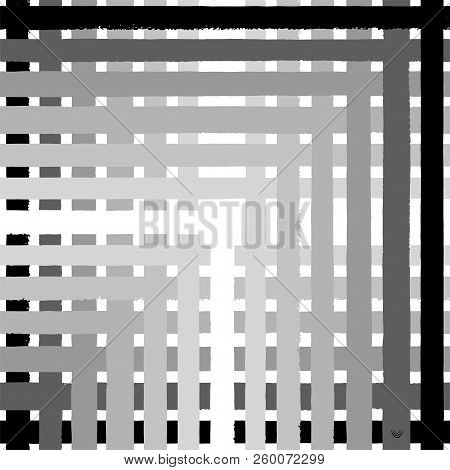 Tartan Gray Seamless Pattern Background, Vector Illustration