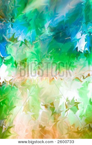Multicolored Floral Abstract Background