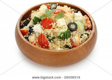 couscous salad , kuskus salad