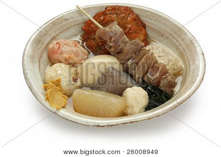 oden , japanese food