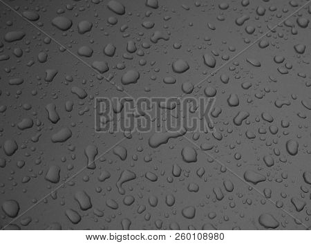 Droplet,waterfall On A Rainy Day, Water Fall.