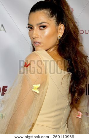 Blanca Blanco arrives at the 9th Annual Face Forward Gala at the Beverly Wilshire Hotel in Beverly Hills, CA on Sept. 22, 2018.