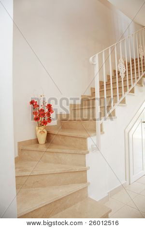 Home interior - stairs poster