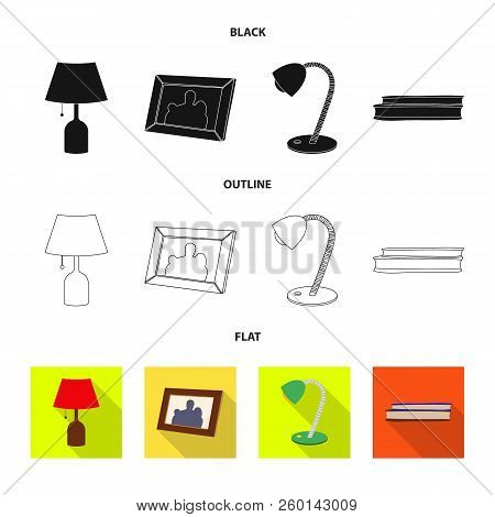 Isolated Object Of Dreams And Night Logo. Collection Of Dreams And Bedroom Stock Symbol For Web.
