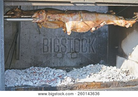 Grilled Lamb Or Roasted Lamb Ready For Restaurants Menu