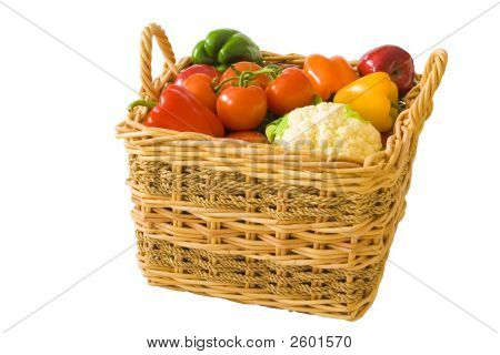 Basket Full Of Produce