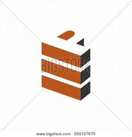 Letter P Logo Stacked. P Letter Vector Technology Logo, Power P Vector, P Letter Logo,p Logo, P Lett