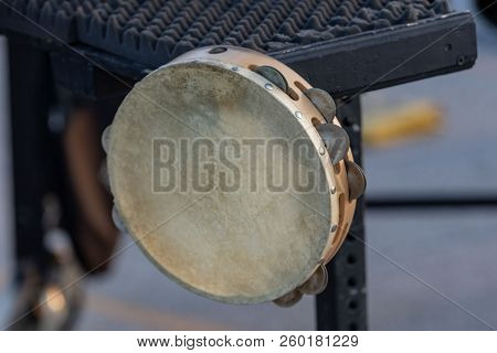 The Tambourine Is Not Usually A Tool Of The Sideline Percussionist