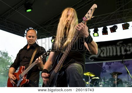 SATU MARE, ROMANIA - JUNE 28: Lake of tears performs onstage at Samfest rock festival June 28, 2008 in Satu Mare, Romania