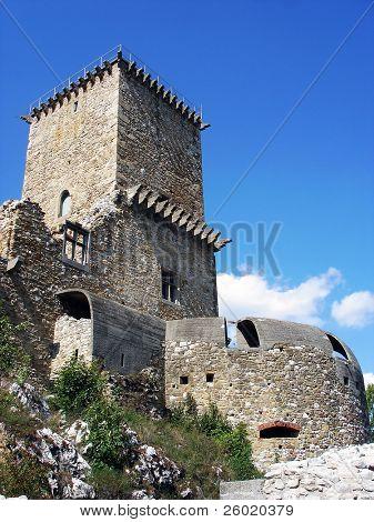 Tower of the DiósgyÅ?ri castle in Miskolc