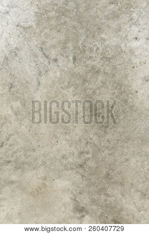 Polished Concrete Soft Smooth Texture Floor Construction Background Light Gray Continuous Coating Fl
