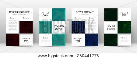 Abstract Cover. Radiant Design Template. Suminagashi Marble Business Poster. Radiant Trendy Abstract
