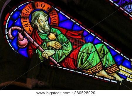 Saint James Or Jacob The Greater - Stained Glass