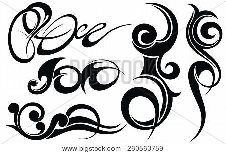 Tribal Tattoo Design Vector Photo Free Trial Bigstock