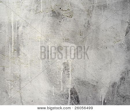 old gray white wall