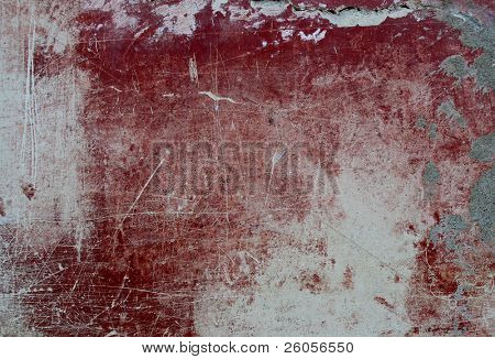 red  scrached  texture