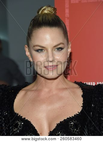 LOS ANGELES - SEP 12:  Jennifer Morrison arrives to the 'Assassination Nation' Los Angeles Premiere  on September 12, 2018 in Hollywood, CA