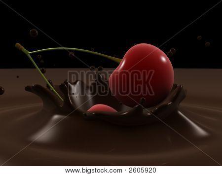 Cherry Choco Splash