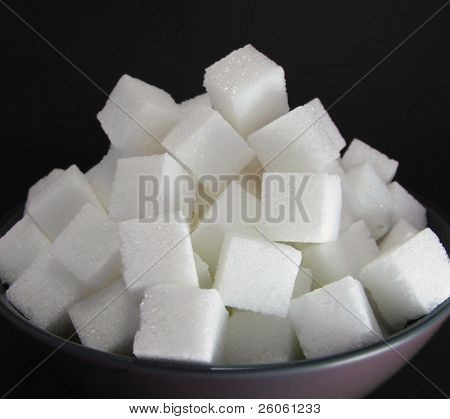 a bowl  of sugar