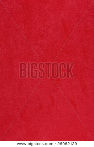 red felt background