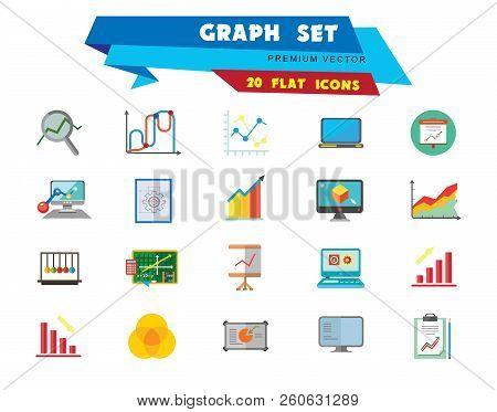 Super Graph Icon Set Vector Photo Free Trial Bigstock Wiring Digital Resources Jonipongeslowmaporg