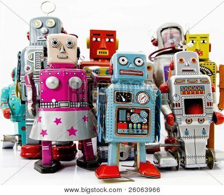 robot juguetes