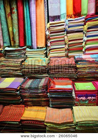 Fashion shop (bazaar in Turkey)