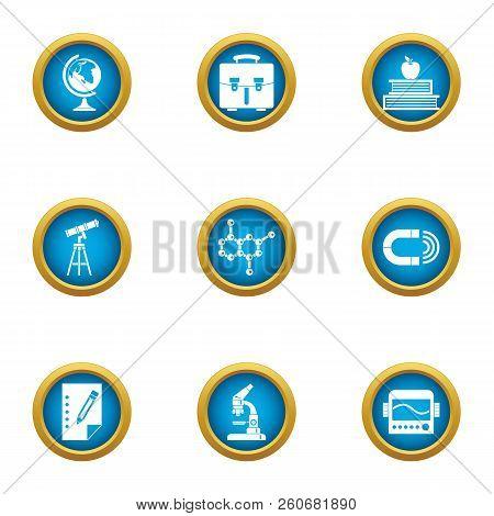 Survey Icons Set. Flat Set Of 9 Survey Vector Icons For Web Isolated On White Background
