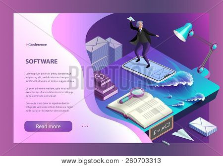 Sending Messages. Email Inbox, Electronic Communication. Communication Technology. Software For Send