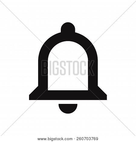 Notifications Bell Icon Isolated On White Background. Notifications Bell Icon In Trendy Design Style