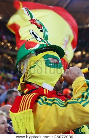 JOHANNESBURG - JULY 11 :  Final at Soccer City Stadium: Spain vs. Netherlands on July 11, 2010 in Johannesburg.
