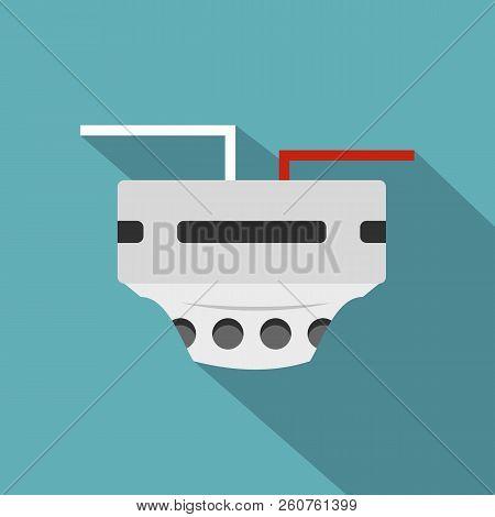 Monitor Socket Icon. Flat Illustration Of Monitor Socket Icon For Web