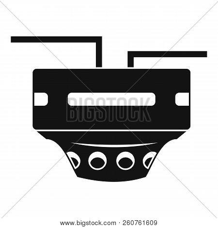Monitor Socket Icon. Simple Illustration Of Monitor Socket Icon For Web