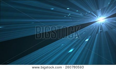 Motion Graphic For Abstract Big Data Digital Center, Server  And Transfer Of Data Communication.