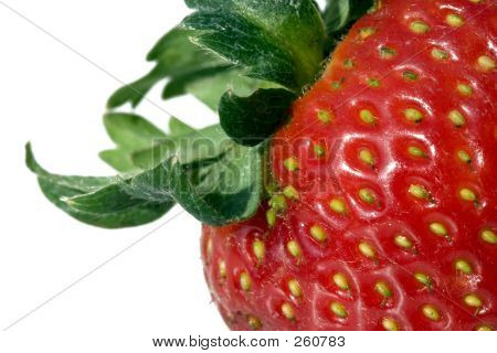 Detail Of A Strawberry
